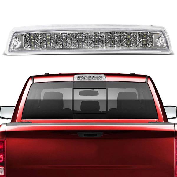 Cheap Dodge Lights Transparent Third Brake Light Assembly Chrome High Mount  Brake Stop Warning Lamp Set