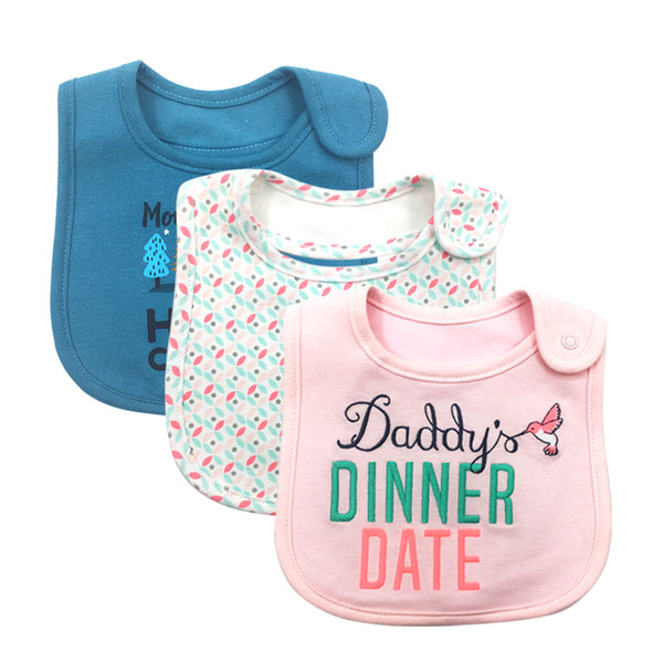 100% Cotton Baby Bibs Waterproof Bandana Baby Girls boys Bibs & Burp Cloths Baby Clothing Product Towel Bandanas Wholesale free shipping hot