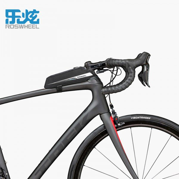 wholesale 0.4L Professional Race Road Bicycle Bags Tool Bag Case Head Top Tube MTB Mountain Road Bike Bags Bicycle Accessories