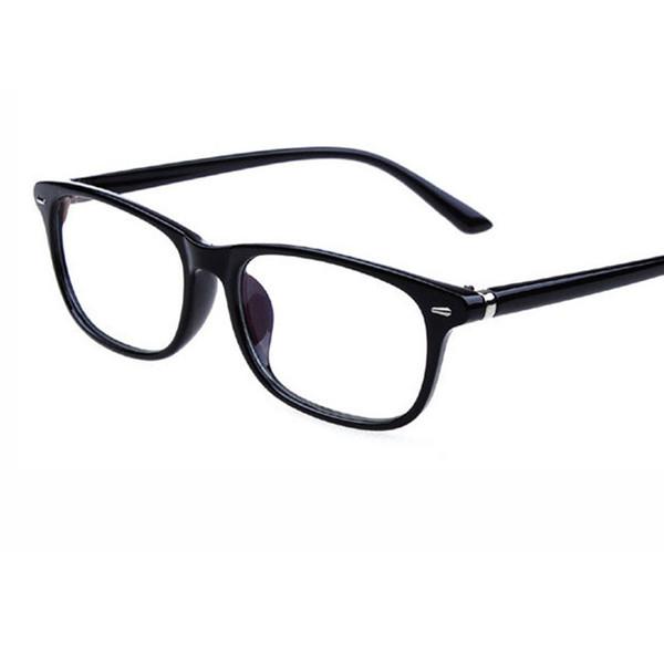 2018 New Fashion Retro rivet frame Eyeglasses Frame Men Women Anti-Blu-ray Anti-radiation lens Eye Glasses Frames for Myopia Glasses