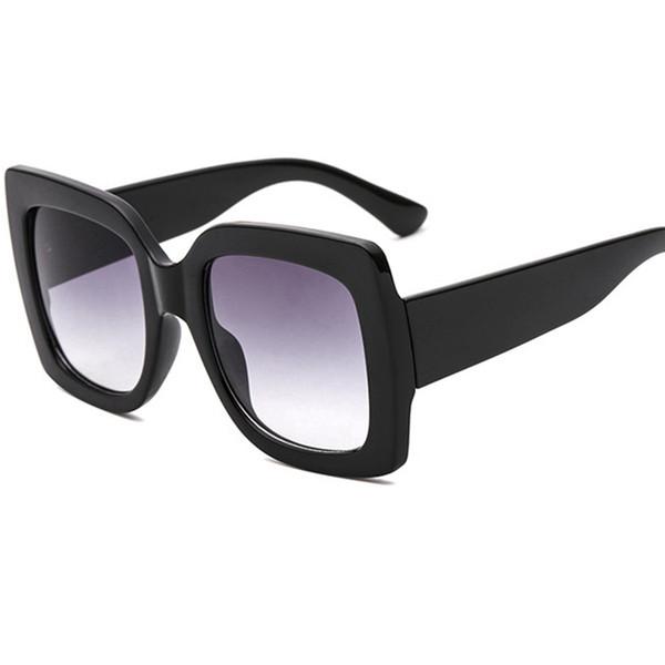 Новые 2018 бренд дизайн ретро солнцезащитные очки женщин роскошные квадратные рамки негабаритных солнцезащитные очки UV400 Oculos де соль солнцезащитные очки для женщин