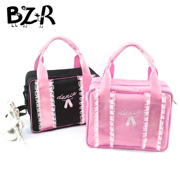 Embroidery Dance Shoes Lace Ballet Dance Bags Kids Message Shoulder Bag Child/Women Bag Ballet Girls Handbag For Dancing
