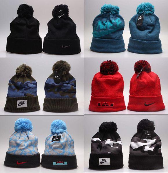 Pour les hommes Femmes Tricoté Casquettes Sport En Plein Air Bonnets Chapeaux Casual Bonnets Sport d'hiver Casquette de mort