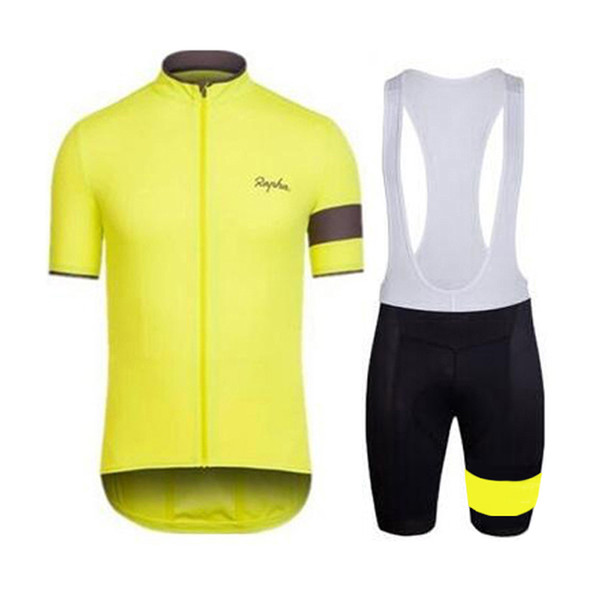 RAPHA team Cycling Short Sleeves jersey (bib) shorts sets cycling clothing  breathable outdoor mountain c0ec4cee0