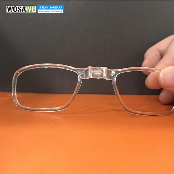 ea0a1de9a WOSAWE Inner Miopia Quadro Para Myopic Lens Ciclismo Óculos De Sol Óculos  Óculos