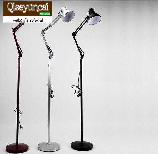 Qiseyuncai mechanical floor lamp home decorative light fixture lamp Lighting E27 socket vintage stand metal lighting