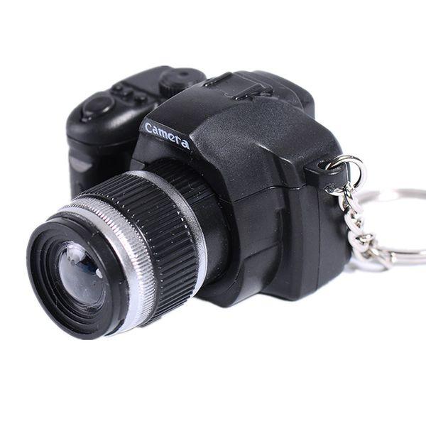 key chains for keys car LED Lovely Mini Camera Key Chain Rings Chain Cartoon Women Car Bag Ring J.19