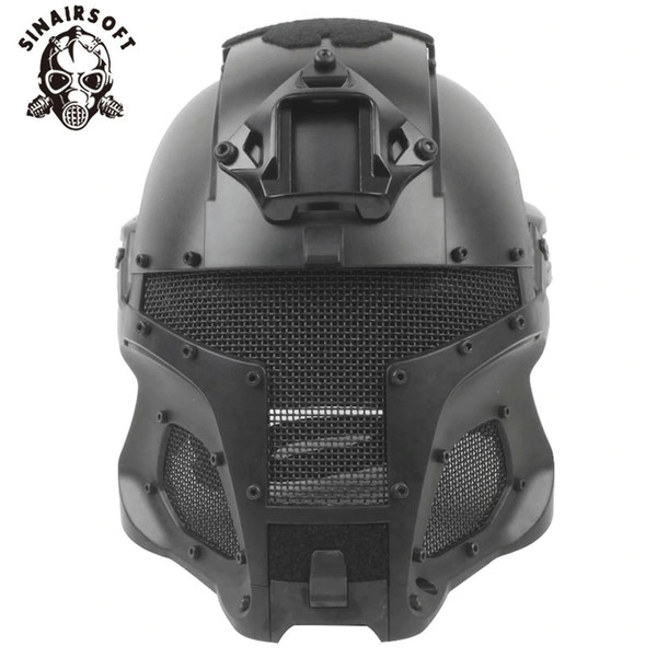 top popular SINAIRSOFT Tactical Ballistic Helmet Side Rail NVG Shroud Transfer Base Dial Knob Outdoor Sport Helmets Army Combat Airsoft Paintball casque 2021