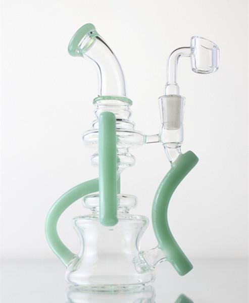 Glass spoon pipe Bong straight tube bongs Mini glass rig factory direct sales hot sale bongs dab rigs
