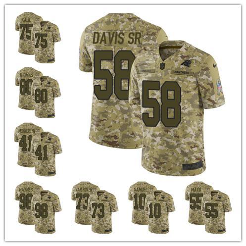 Men s 22 Christian McCaffrey Carolina Jersey Panthers 1 Cam Newton 59 Luke  Kuechly 90 Julius Peppers 5fe2eca99
