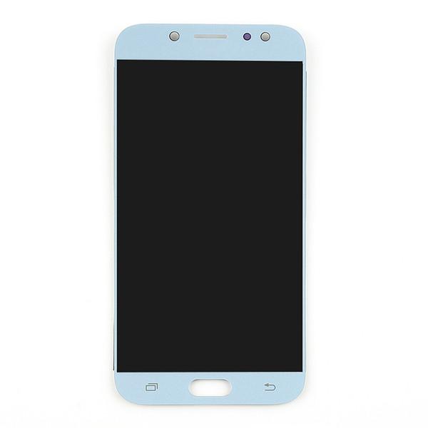ل J730 LCD الأبيض