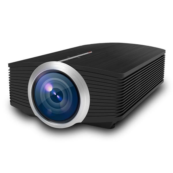 Mini Projecteur Support Connexion De Câble De Données Au Téléphone Mobile YG500 1080 P Projecteurs LCD Pour Home Cinéma USB HDMI VGA 3D LED Beamer