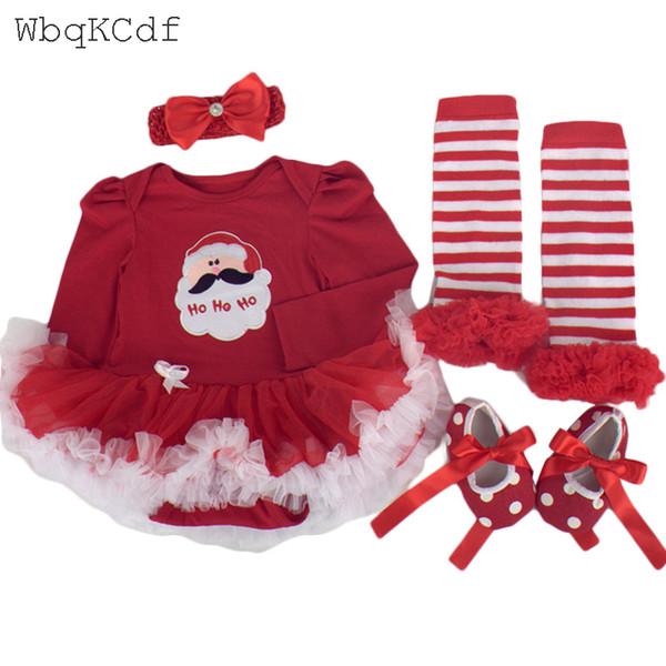 Compre Vestido De Cosplay Para Niños Vestido De Fiesta De Navidad Con Disfraces De Santa Claus Para Niña Traje De Ropa Para Niños Ropa De Bebes