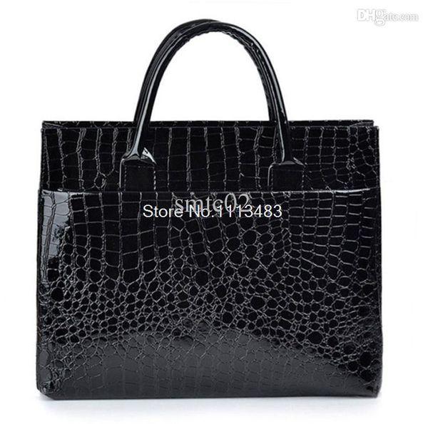 Femmes sac nouveau 2015 sac à main de luxe de mode en cuir sac épaule décontractée crocodile motif femmes messenger sacs bolsos mujer