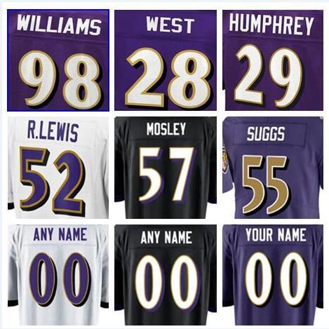 5893e934 Baltimore Joe Flacco Ravens Jersey Justin Tucker Terrell Suggs Eric Weddle  CJ Mosley Custom Devin Hester American Football Jerseys 4xl Cheap UK 2019  ...