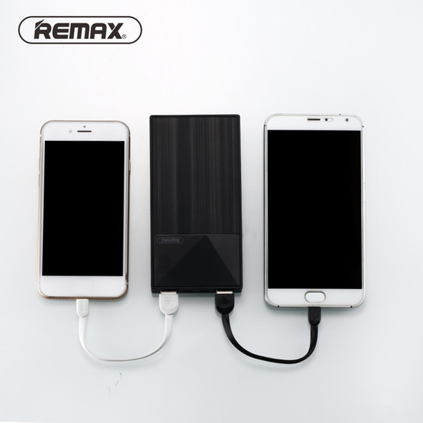 Remax 10000mAh Power Bank Portable External Battery Bank 2.0 A Output Indicator Large Capacity Poverbank Charger For Phones