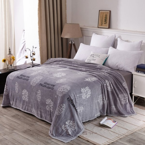 Quality Winter Bedding bedspread blanket High Density Super Soft Warm Flannel Blanket to on for the sofa/Bed/Car Portable throw