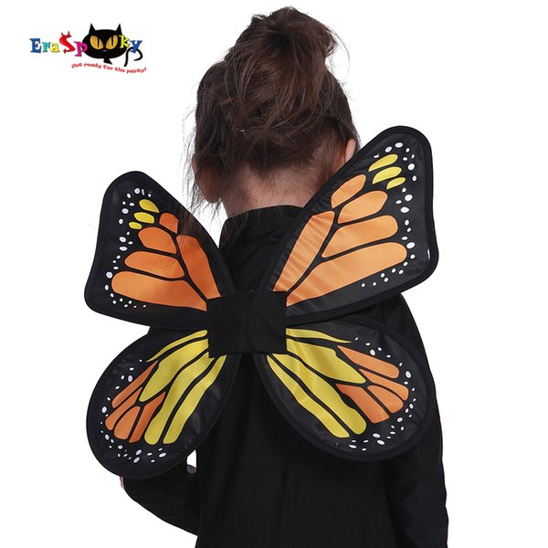 Carnival Party Princess Ballet Butterfly Wings Costume Kids Stage Dress Fairy Wings Cosplay Girls Fancy Dress Toddlers Halloween