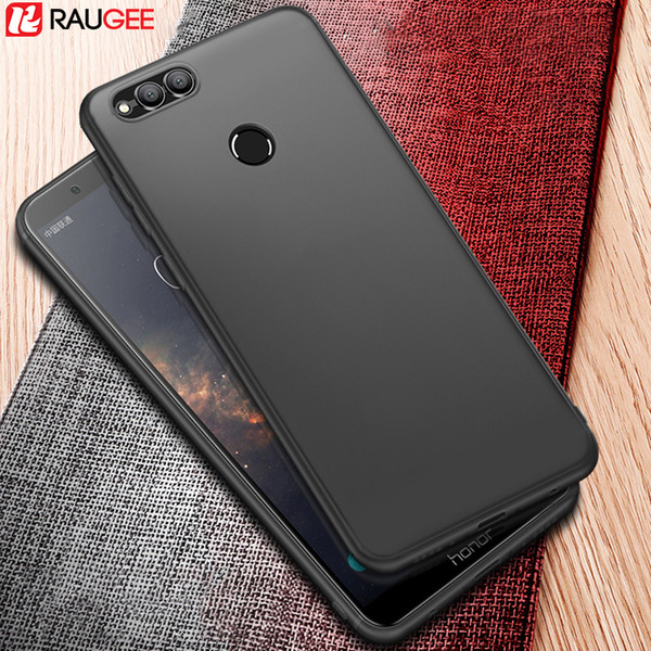 Huawei Honor 7X Case Bumper Back Cover Protector UltraThin Frosted Matte Soft Silicon TPU Case for Huawei Honor 7X fundas