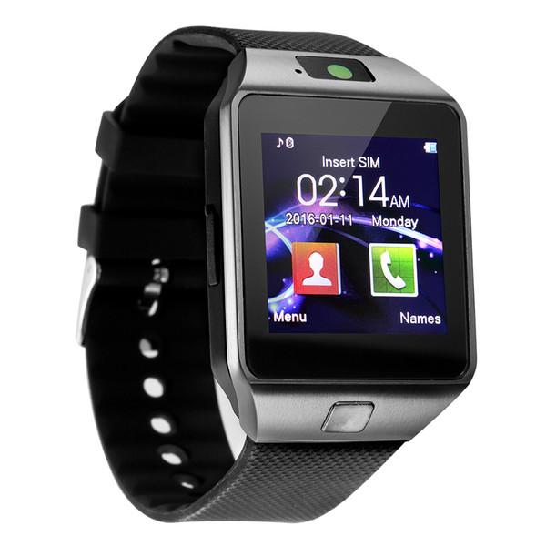 Z DZ09 Moda Sport Smart Watch Supporto SIM TFCard per telefono Android Smartwatch Uomo Macchina fotografica Dispositivo indossabile da donna S M