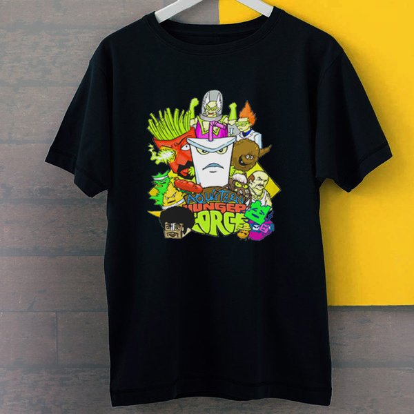 Meatwad Aqua Teen Hunger Force New Black T-Shirt S-3XL 2018 New 100% Cotton T-Shirts Men