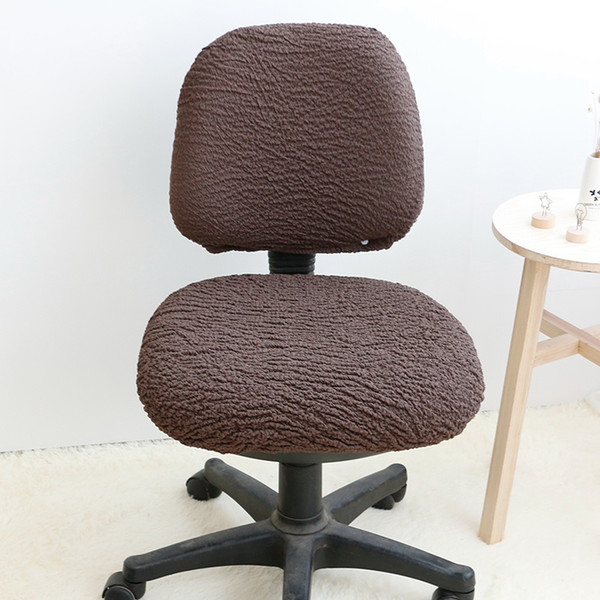 Excellent Office Chair Cover Computer Chair Covers Removable Stretch Chair Seat Cover Computer Dining Covering Rotating Lift Slipcover Yz0016 Dining Room Chair Gmtry Best Dining Table And Chair Ideas Images Gmtryco