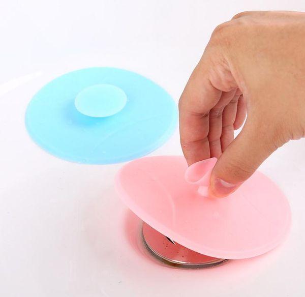 Kitchen Basin Sink Hair Plug Toilet Water Drains Plug Bath Silicone Floor Drain Cover Strainer SN721