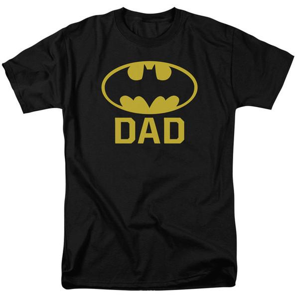 Batman Bat Dad Symbol DC Comics Licensed Adult T Shirt