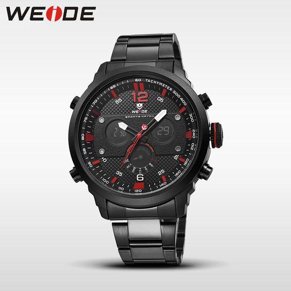 WEIDE Jung genuine watch sport digital stainles steelin quartz men Wrist watches quartz contracted water resistant horloge clock