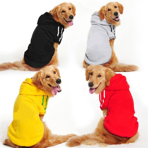 Fashion Brand Cute Dog Clothing With Multi Color Hoodie Autumn Winter Warm Outwears Apparel Pet Supplies Coat 7gg7 jj