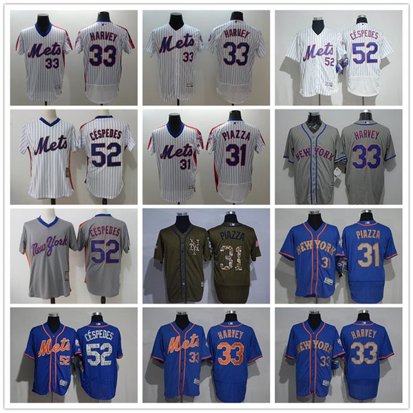 new arrival df001 96563 2019 Men Women Youth NY Mets Jersey #33 Matt Harvey 31 Mike Piazza 52  Yoenis Cespedes Throwbacks Baseball Jerseys From Tenplus, $23.36 |  DHgate.Com