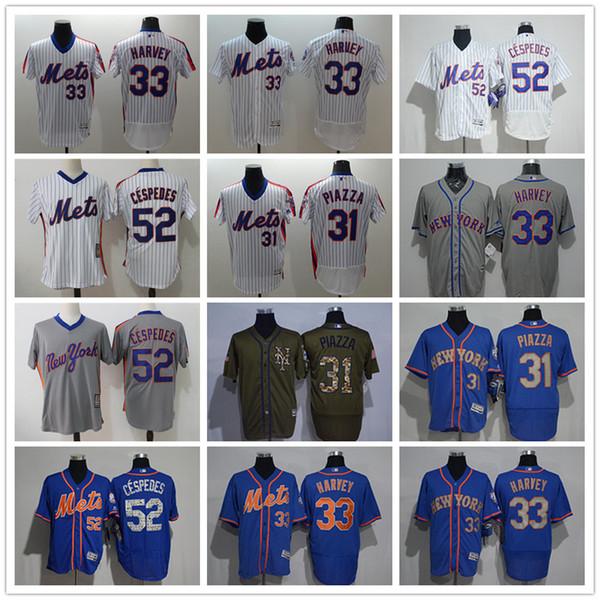 new arrival 60242 78447 2019 Men Women Youth NY Mets Jersey #33 Matt Harvey 31 Mike Piazza 52  Yoenis Cespedes Throwbacks Baseball Jerseys From Tenplus, $23.36 |  DHgate.Com