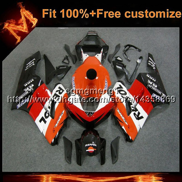 23colors+Gifts Injection mold repsol Body Kit motorcycle cowl for HONDA 2004-2005 CBR1000RR 04 05 ABS Plastic Fairing
