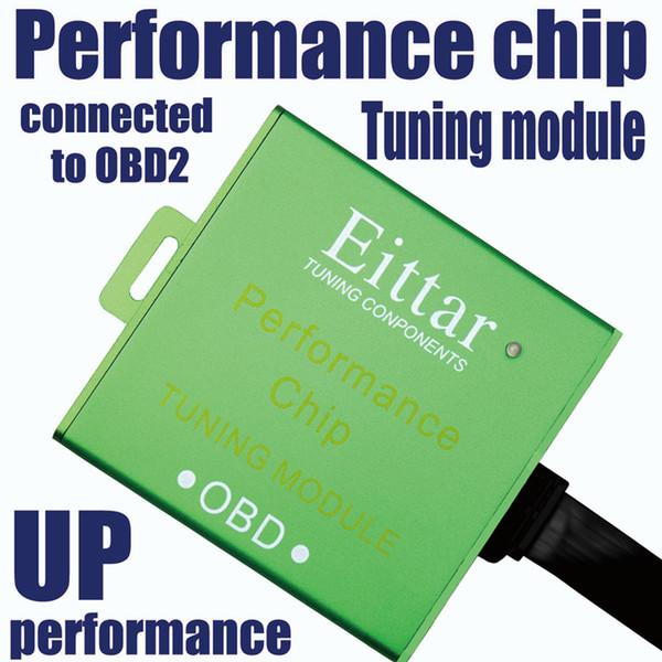 Eittar araba OBD2 OBDII performans çip ayar modülü Artırmak güç artırmak için tepki mükemmel performans Audi için