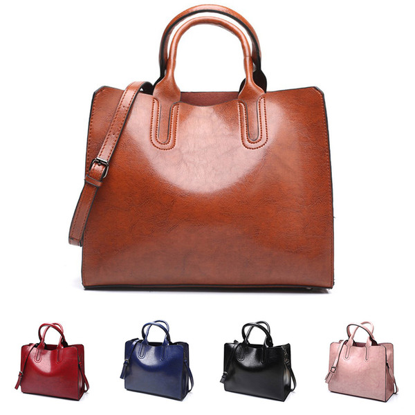 SFG HOUSE Women's Handbags Large Capacity Women Bag PU leather Casual Female Tote Purses Luxury Brand Shoulder Bag Bolsa Feminin