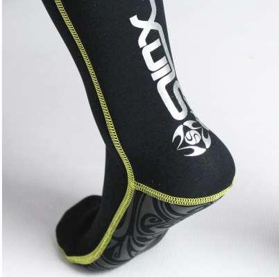 Nova marca Slip-resistant 3mm Neoprene Botas Meias Meias de Mergulho Quentes para Mergulho Natação Barbatanas Meias Esportes Aquáticos Snorkeling