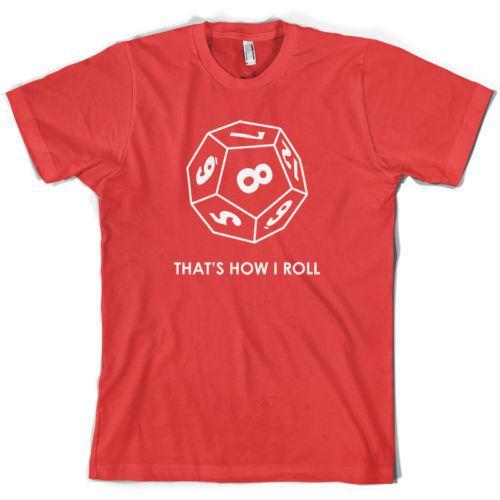 İşte ben böyle (Rol oynama oyunu) - Erkek T-Shirt - 10 Renk -s-XXL