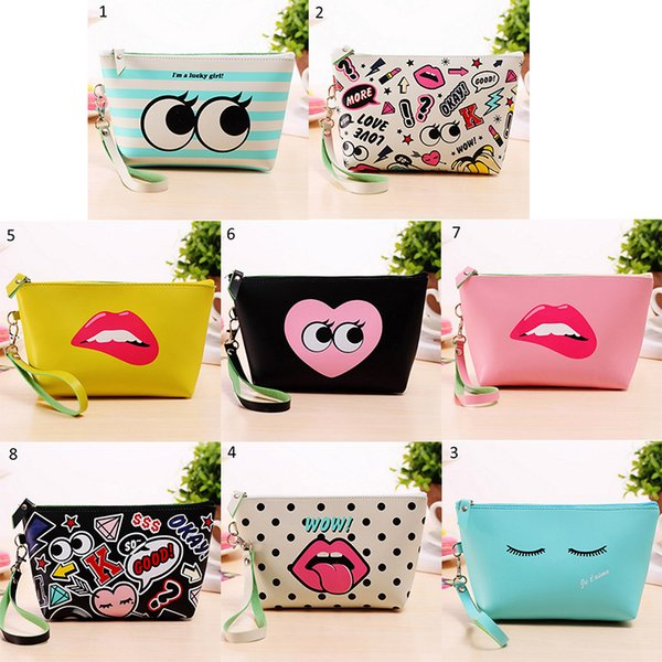 1PCS Cute Cosmetic Makeup Bag Purse WOrganizer Pouch Case Traveling Bags Beautiful Cosmetic Bag