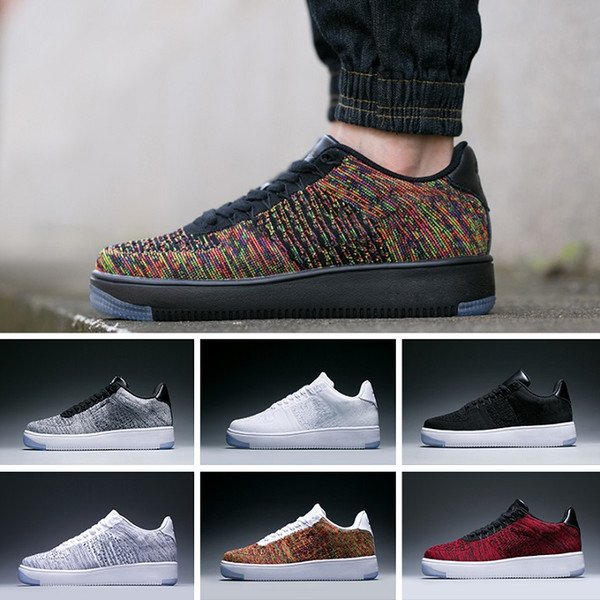 Vender Mujer zapato Nike Air Force Flyknit Low Originales