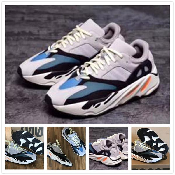 2019 Cheap Wave Runner 700 Real Women Trainer Men Running Shoes Kanye West 700s Design Sneakers Wholesale regalo de Navidad