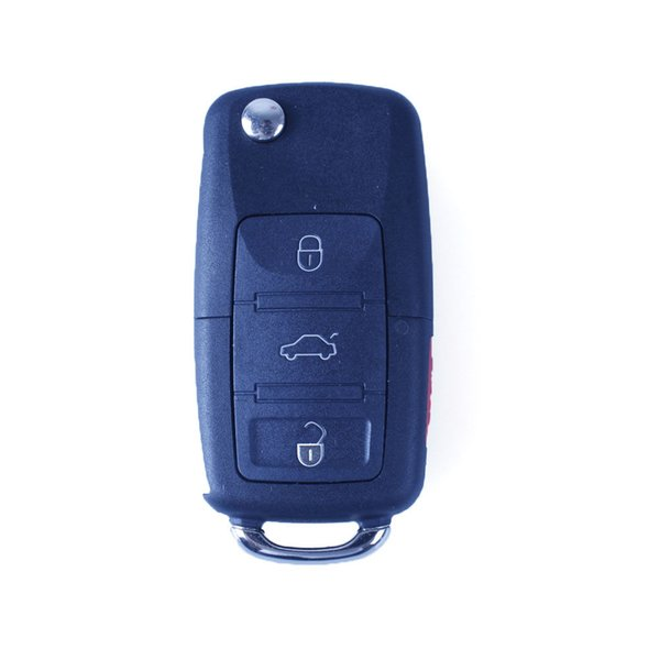 4Buttons Replacement Keyless Entry Remote Car Key Fob Transmitter Flip Ignition Transponder Chip Key