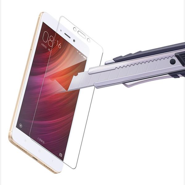 Protecteur d'écran 2.5D 9H en verre de protection pour Xiaomi Redmi 2 3 4 5 5Plus 4A 4X 4 Prime Note Note2 4X en verre trempé