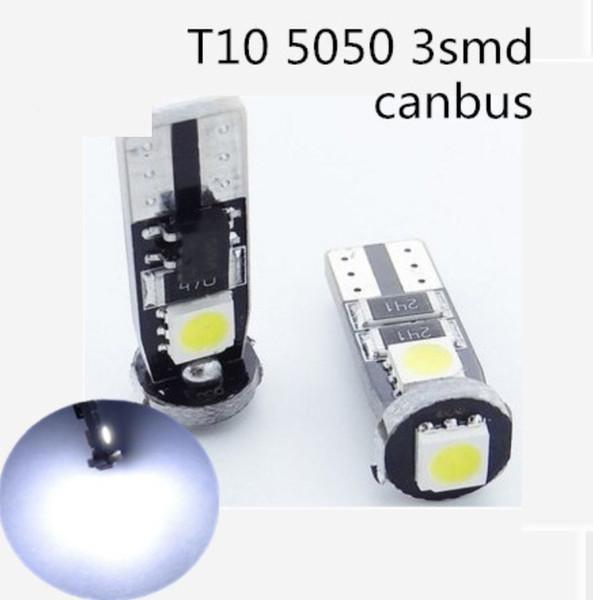 T10 501 W5W 24 LED SMD CANBUS NO ERROR XENON BLANCO LADO BOMBILLAS LÁMPARAS 12V