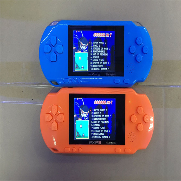 High Quality Game Player PXP3 (16 Bit) 2.7 Inch LCD Screen Handheld Video Game Player Consoles Mini Portable Game Box FC