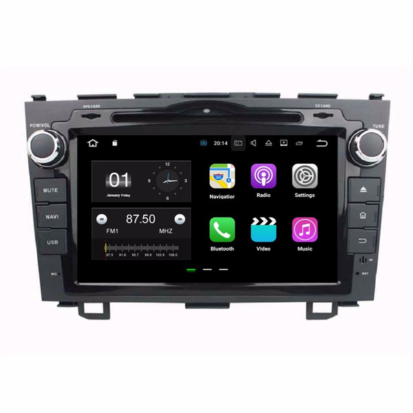 DVD da 2GB RAM Android 7.1 Quad Core Autoradio DVD GPS Multimedia Car DVD per Honda CR-V CRV 2006-2011 Con Bluetooth WIFI Mirror-link