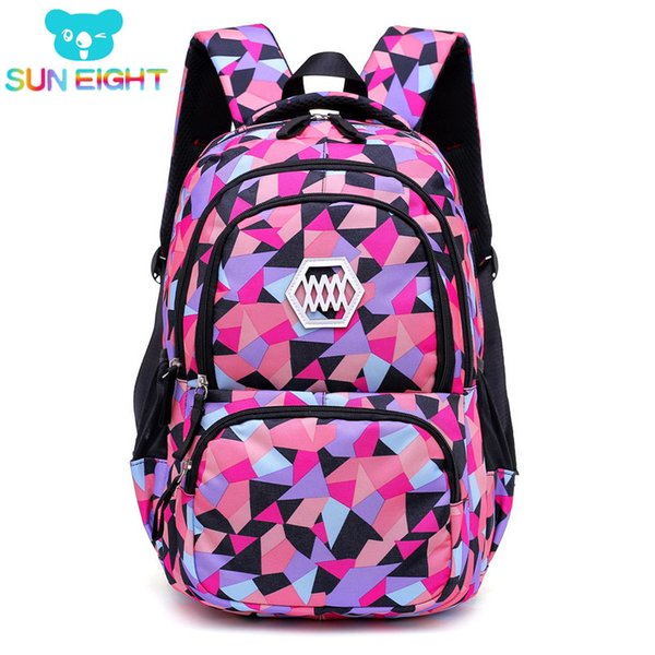 SUN EIGHT Women Backpack Girl School Bag For College Students Travel Backpacks Laptop School Bags for Teenage Girls Y18110107
