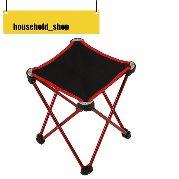 2018 Nova Chegada Da Liga de Alumínio Oxford Pano Cadeira Dobrável Camping Praia Churrasco Cadeira De Pesca Cadeira Portátil