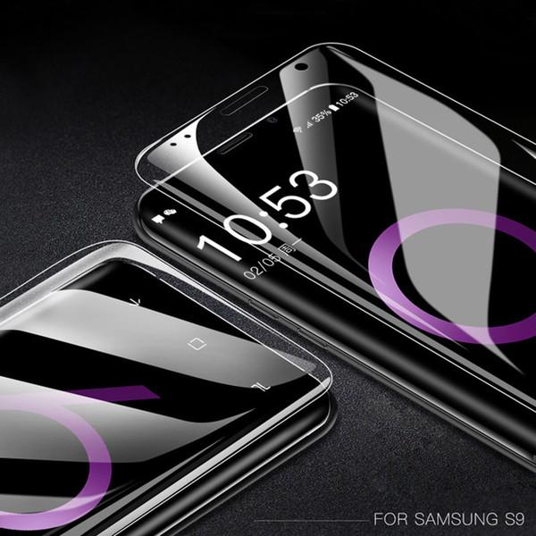 3d film protetor de tela para samsung galaxy s8 mais s9 mais s6 s7 borda cobertura completa filme macio não de vidro temperado disco de ruptura