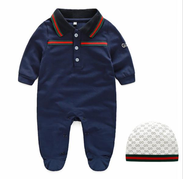 top popular New Cartoon Baby Romper Spirng Autumn Long Sleeve Baby Boy Girl Romper Infant Warm Jumpsuit Kids Cotton baby Clothe 2020