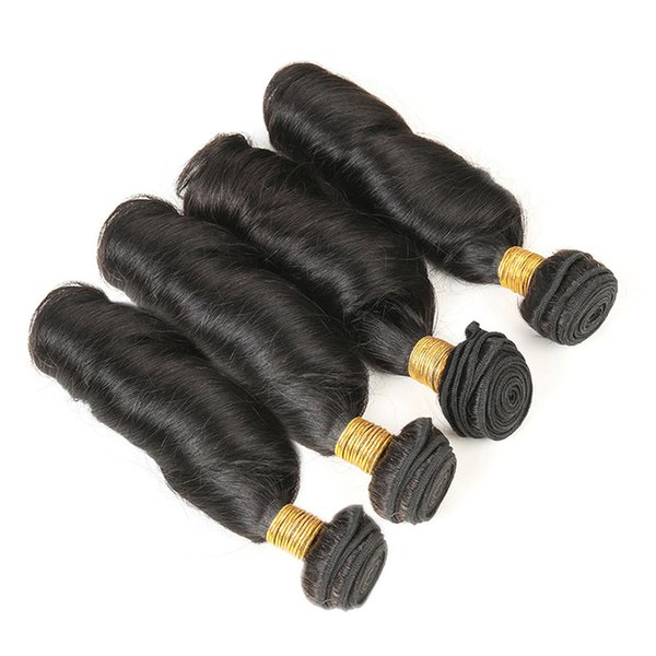 Mongolian Spring Curl Hair Bundles Fummi Weave Curly Virgin Human Hair Extensions Natural Color 4 Bundles Curly Hair Wefts Free Shipping